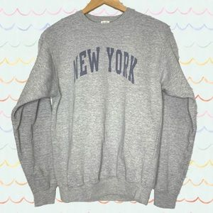 Brandy Melville John Galt New York Sweatshirt OS